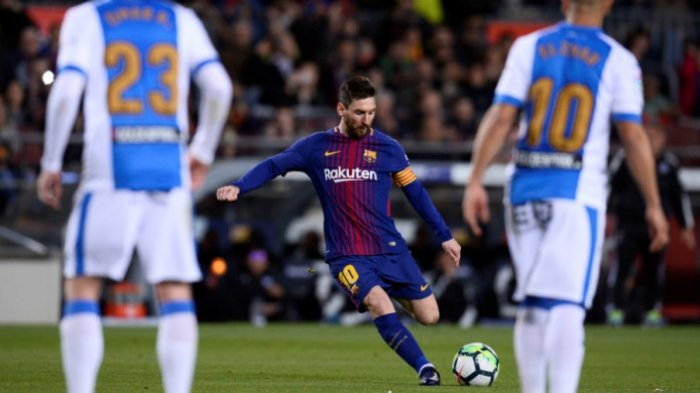 Barcelona Tekuk Leganes 3-1, Lionel Messi Cetak Hat-trick