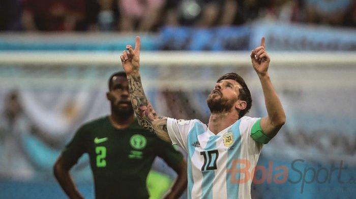 Argentina Sukses Kalahkan Brasil Lewat Gol Tunggal Sang Megabintang Lionel Messi