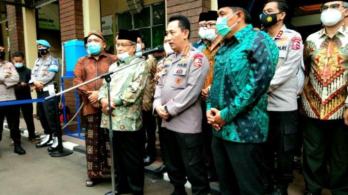 Kapolri Jenderal Listyo Sigit Prabowo Kunjungi Markas PBNU: Ini Meningkatkan Sinergi Ulama