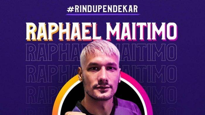 Pemain Persita Tangerang Raphael Maitimo Kebingungan Karena Liga 1 2020 Belum Bergulir Lagi
