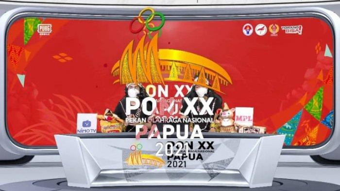 Berlangsung Live Streaming Pra PON XX Papua Cabor Esports PUBG Mobile, DKI Jakarta di Grup Berat
