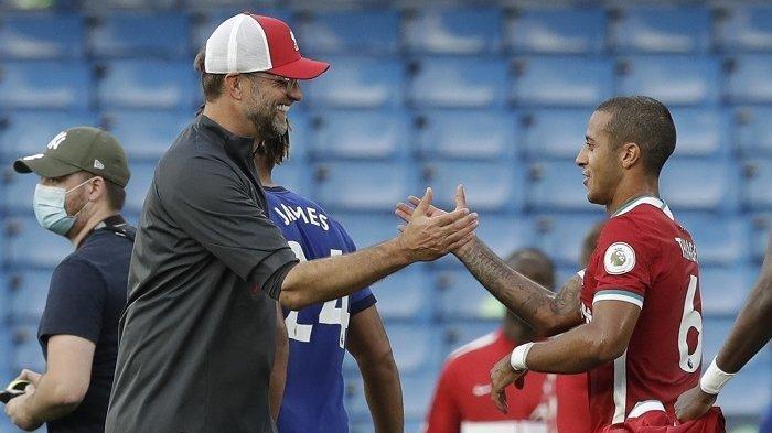 Liverpool Vs Manchester United: Menarik Menanti Kreasi Thiago Alcantara dan Bruno Fernandes
