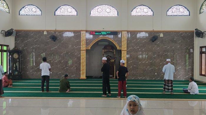 Lokasi percobaan penyerangan terhadap Imam Masjid Al Mujahidin, Kamis (28/1/2021).