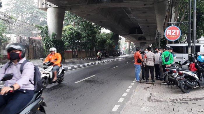 Dibegal di Jalan Antasari Jakarta Selatan, Sopir Taksi Ditusuk 5 Kali oleh Pelaku