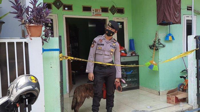 Rumah lokasi kejadian pencurian dan pemerkosaan di Kelurahan Bintara, RT 08 RW 02, Kecamatan Bekasi Barat, Kota Bekasi. TRIBUNJAKARTA.COM/YUSUF BACHTIAR
