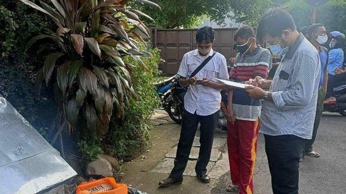 Lokasi penemuan bayi laki-laki di Jalan Kramat Batu 1, Gandaria Selatan, Cilandak, Jakarta Selatan, Jumat (8/1/2021).