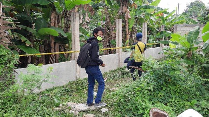 Lokasi penemuan jasad bayi perempuan di lahan kosong, Kelurahan Bintara Jaya, Kecamatan Bekasi Barat, Kota Bekasi.
