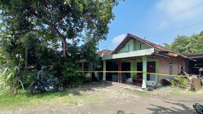 Lokasi penganiayaan terhadap satu keluarga di Mojoanyar, Mojokerto
