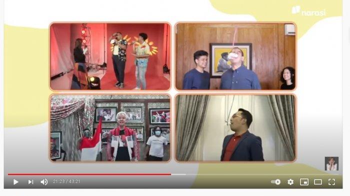 Viral Video Kocak Gubernur Lomba Makan Kerupuk Online: Ganjar Pranowo Juara 1, Mas Anies Terakhir