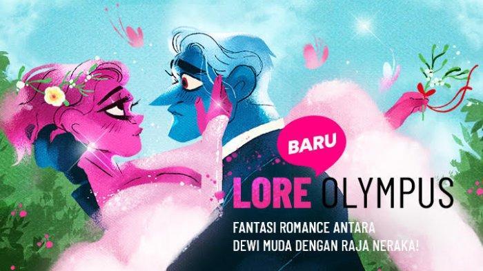 Webtoon Lore Olympus Kini Hadir di Indonesia, Dirilis dengan 7 Bahasa