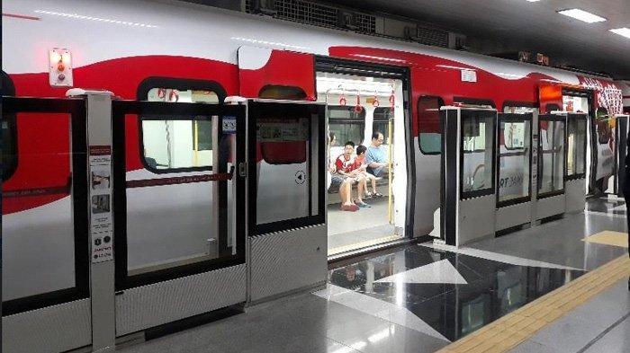 Penerapan PSBB di Jakarta, LRTLakukan Perubahan Jam Operasional
