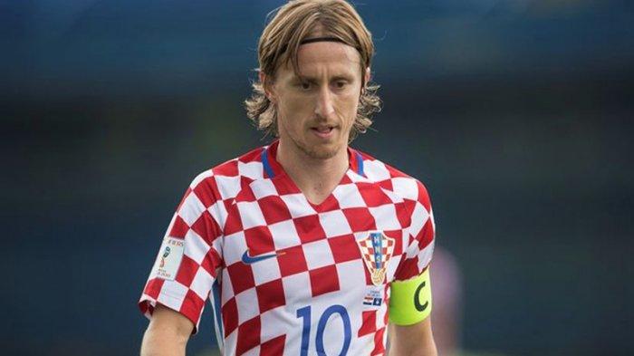 Luka Modric Dinobatkan sebagai Pemain Terbaik Piala Dunia 2018