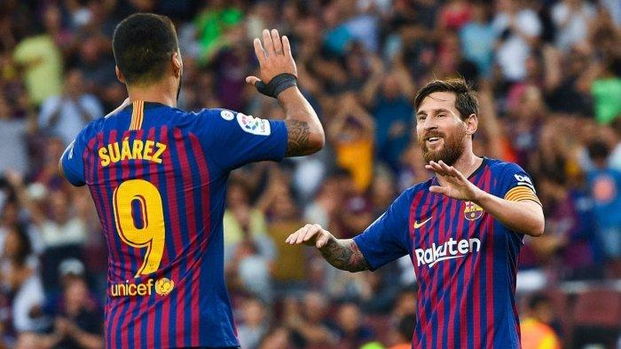 Hasil Liga Champions - Luis Suarez Jadi Pahlawan Barcelona yang Ungguli Inter Milan