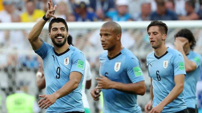 Kalah di Kandang Sendiri, Rusia Dipermalukan Uruguay 0-3