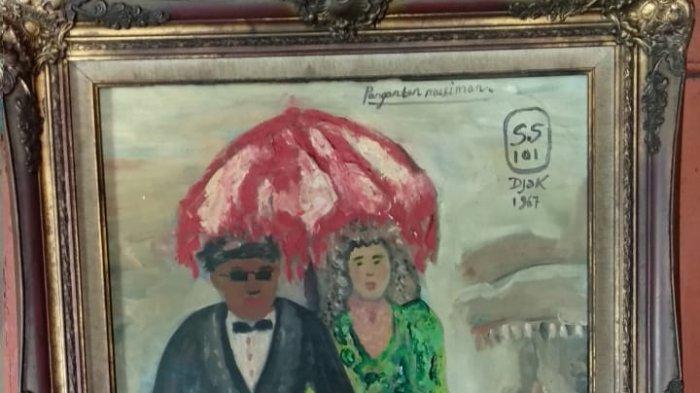 Harga Lukisan Penganten Musiman di Rumah Si Pitung Ditaksir Hingga Miliaran Rupiah