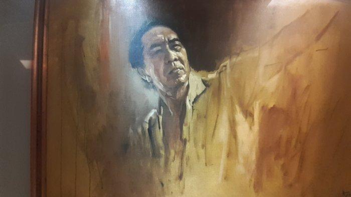 Bukan Cuma Realis, Abstrak, dan Pemandangan, Basoeki Abdullah juga Punya Lukisan Selfie