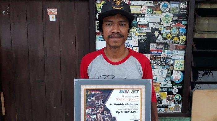 Harapan Pemuda Usia 26 Tahun Asal Ciracas Bawa Bendera Palestina Bersepeda dari Jakarta-Banyuwangi