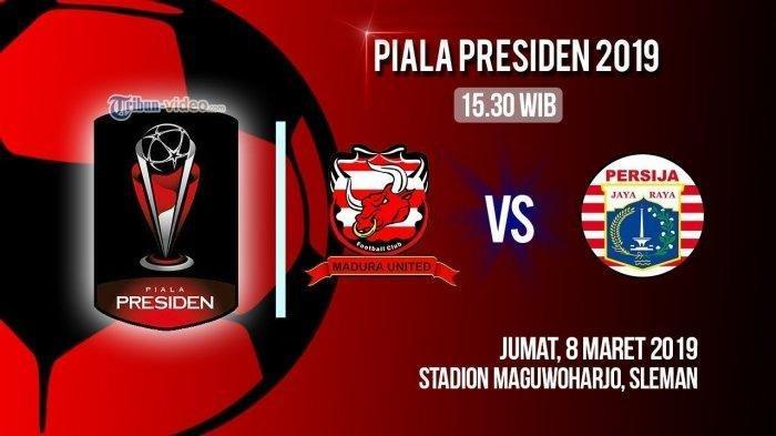 Sedang Berlangsung Persija Jakarta vs Madura United, Skuat Macan Kemayoran Berubah