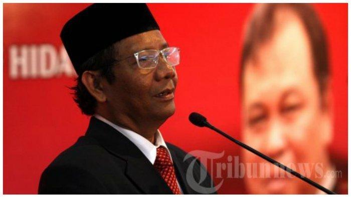 Tanggapi Rumor Ahok Bakal Gantikan Maruf Amin, Mahfud MD Singgung Permainan Politik Tingkat Tinggi
