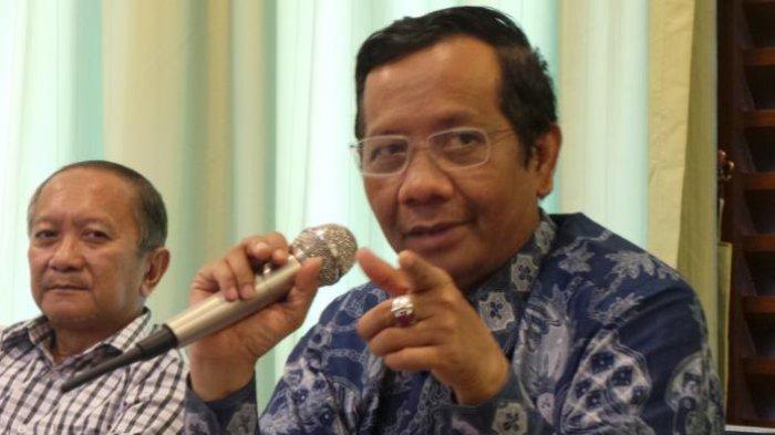 Tudingan Amien Rais Dibantah Mahfud MD, Presiden Tak Bisa Ubah Masa Jabatan: Jokowi Tak Setuju