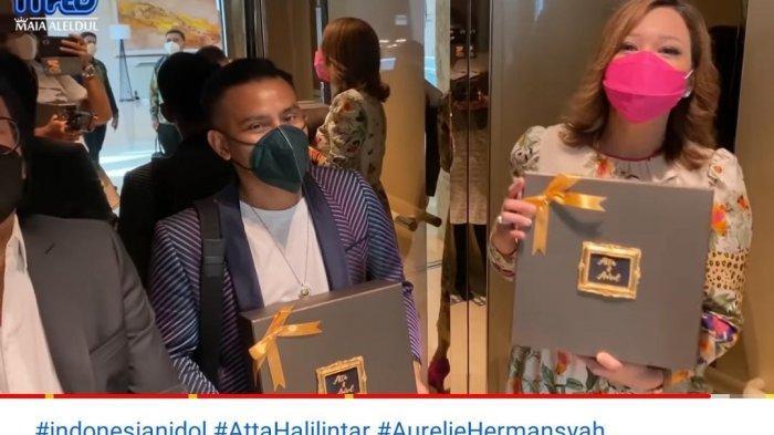 Maia Estianty dan Judika Perlihatkan Souvenir Mewah Lamaran Atta Aurel, Dibungkus Kotak dengan Pita