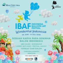 Ingin Lihat Aneka Ragam Kreasi Balon? Yuk Datang ke Indonesian Balloon Art Festival 2018