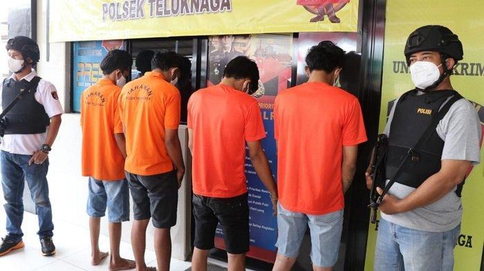 Polisi Tangkap 4 Maling Motor Asal Karawang yang Beraksi di Teluknaga Kabupaten Tangerang