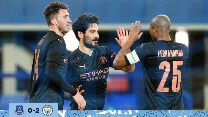 Hajar Everton, Manchester City Tembus Semifinal Piala FA dalam 3 Musim Berturut-turut