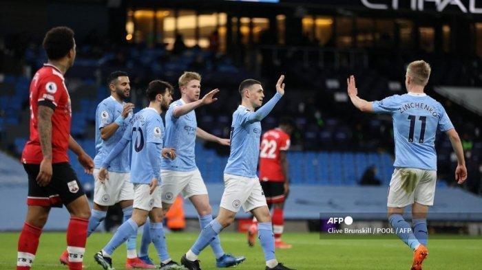 Klasemen Liga Inggris - Di Puncak, Manchester City Makin Tak Terkejar