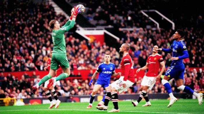 Hasil Liga Inggris: Cristiano Ronaldo Cadangan, Man United Hanya Imbang Lawan Everton