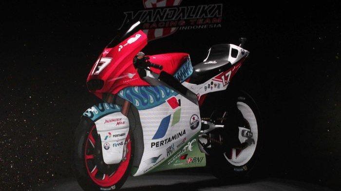 Mandalika Racing Team Indonesia Perkenalkan Pembalapnya yang akan Berlaga di Moto2 2021