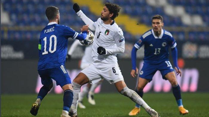 Italia ke Semifinal UEFA Nations League 2020/2021 Meski di Tengah Badai Cedera dan Infeksi Corona