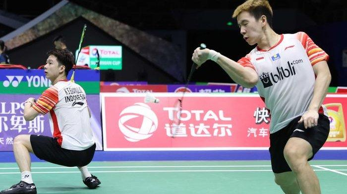 Sedang Berlangsung Marcus/Kevin Vs Choi/Seo: Tidak Disiarkan TVRI, Link Live Streaming China Open