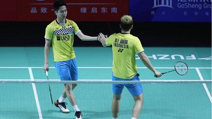 Pecahkan Rekor Baru & Pertahankan Gelar ke-4 Beruntun, Marcus/Kevin Juara Fuzhou China Open 2019