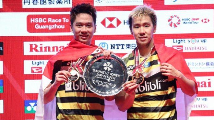 Pertahankan Gelar Japan Open, Marcus/Kevin Menangi 18 Gelar, Hingga Dekati Rekor Ricky/Rexy