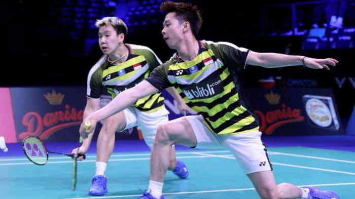 Jadwal Semifinal China Open Hari Ini - Marcus/Kevin Hadapi Rekan Senegara Demi Tiket Final