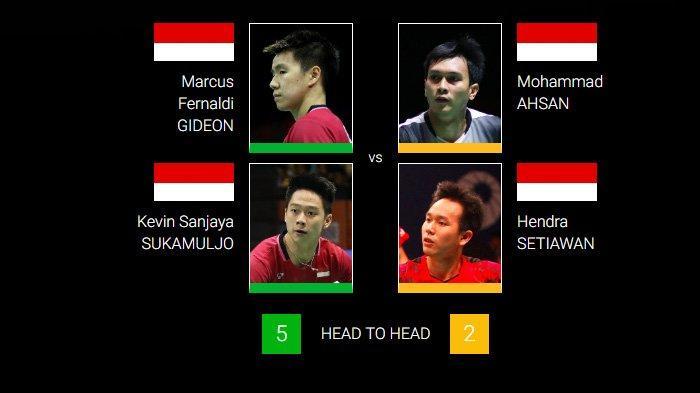 Final Indonesia Masters 2019: Jalan Terjal Ahsan/Hendra Lawan Marcus/Kevin dan Lawan Berat Owi/Butet