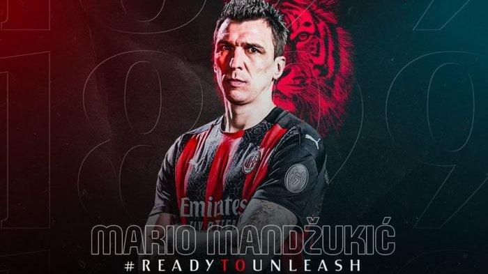 Menanti Debut Rekrutan Teranyar AC Milan Mario Mandzukic, Bakal Jadi Momok Kiper Lawan