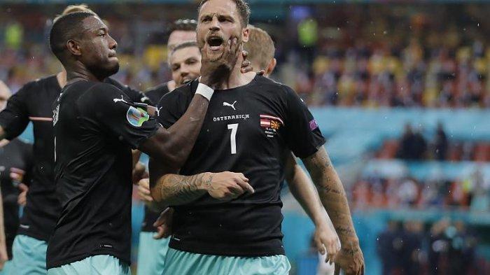 Penyerang Austria Marko Arnautovic Dihukum Satu Pertandingan Karena Berkata Kasar Saat Rayakan Gol