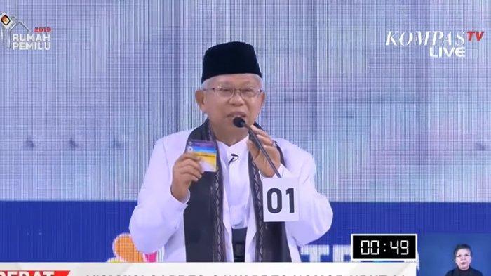 Status Maruf Amin di Bank Syariah Dipermasalahkan, Ini Tanggapan KPU, Bawaslu Hingga TKN