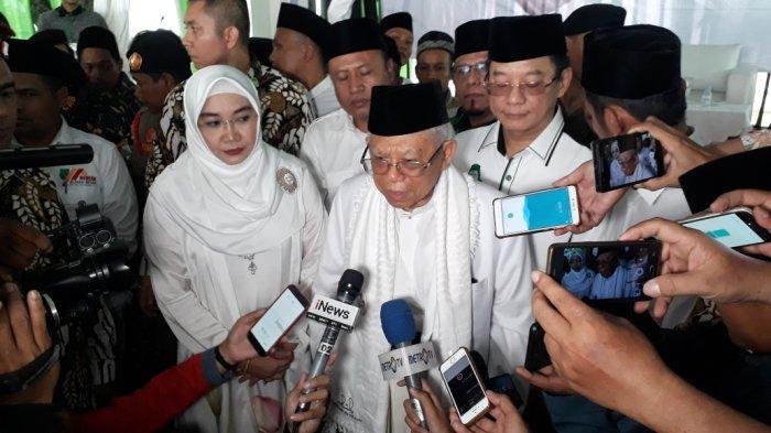 Jokowi Disebut Serang Prabowo Saat Debat, Maruf Amin: Kita Serahkan Kepada Bawaslu