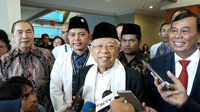 Ma'ruf Amin Tak Beri Masukan ke Jokowi Terkait Persiapan Debat Capres