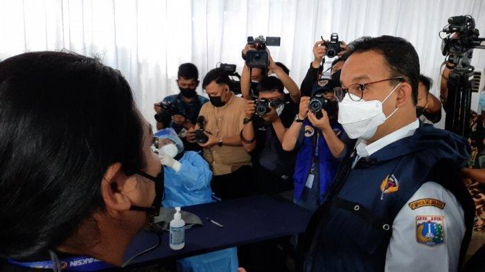 Didampingi Prananda Surya Paloh, Gubernur Anies Tinjau PSP Bervaksin yang Digelar Partai NasDem