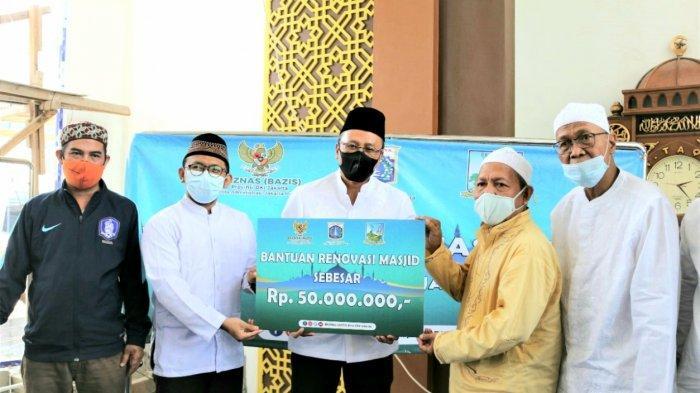 Kolaborasi dengan Pemkot Jakarta Pusat, Baznas Bazis Salurkan Bantuan Renovasi Masjid di Kemayoran