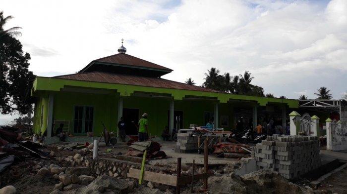 Air Laut Lompati Kubah Masjid Jami Pantoloan saat Tsunami, Begini Kesaksian Jemaah
