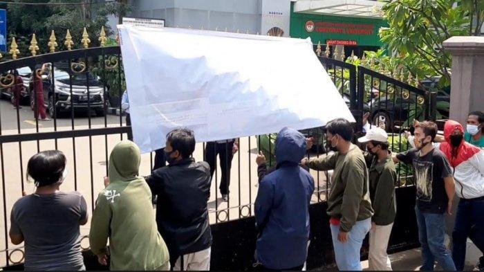 Dipicu Adu Mulut, Demo Depan Kanwilkumham DKI Jakarta Berujung Ricuh