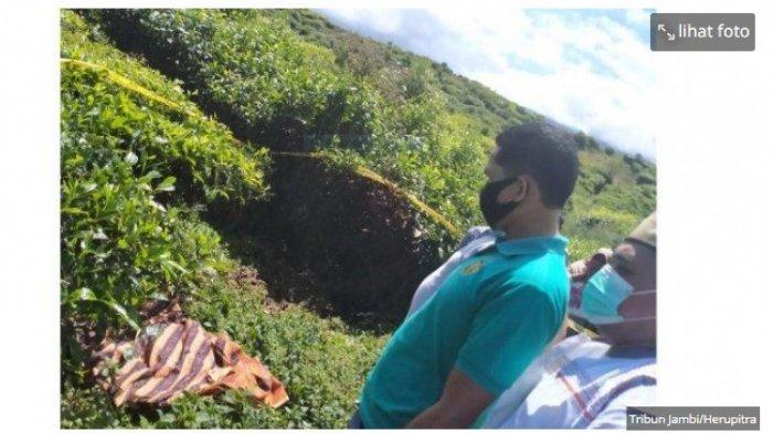 Terkuak Mayat Pria di Kebun Teh Kayu Aro Kerinci, Ternyata Korban Pembunuhan Berencana Ini Pelakunya