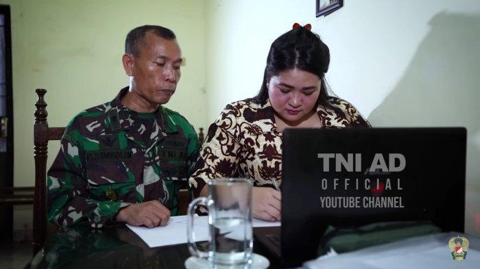 Terserang Stroke, Mayor Simbolon Tetap Ikuti Pendidikan Sesko TNI: Sang Istri Ditugaskan Mencatat