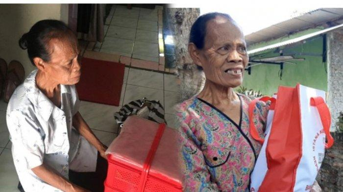 Mbah Khotimah, Penjual Jajanan Pasar yang Ditipu Pembeli Dapat Bantuan dari Jokowi: Saya Gak Nyangka