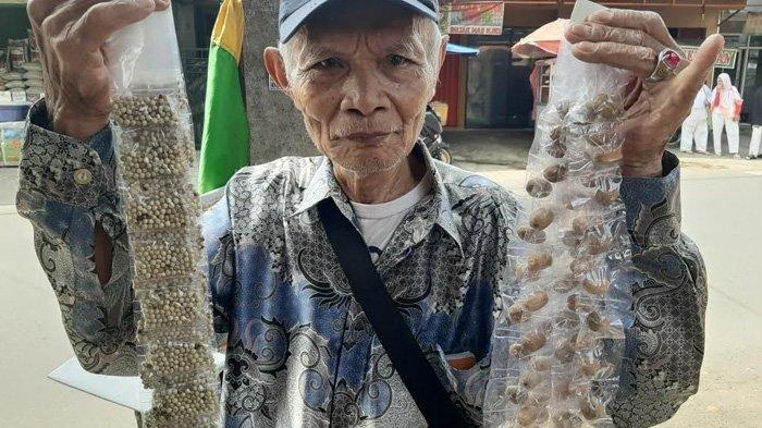 46 Tahun Jualan Rempah-Rempah di Jakarta, Mbah Techad dari Banjarnegara Beli Tanah dan Bangun Rumah